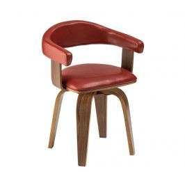 Židle Bentwood Claret Red