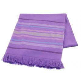 Ručník Pestemal Lines Purple 70x170 cm Koupelnové ručníky
