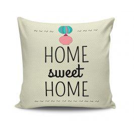 Dekorační polštář Home Sweet Home 45x45 cm Dekorační polštáře