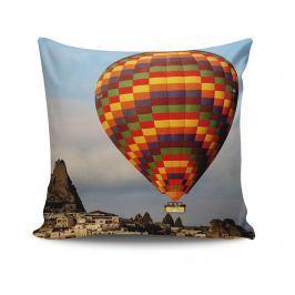 Dekorační polštář Hot Air Balloon 45x45 cm Dekorační polštáře