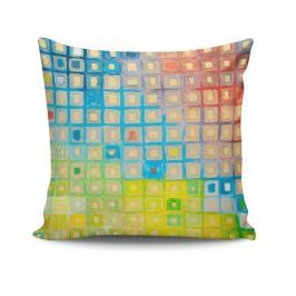 Dekorační polštář Paint Square 45x45 cm Dekorační polštáře