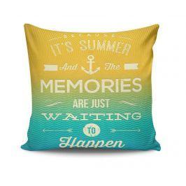 Dekorační polštář Summer Memories 45x45 cm Dekorační polštáře