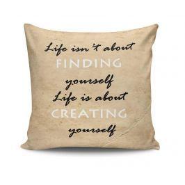 Dekorační polštář Creating Yourself 45x45 cm Dekorační polštáře
