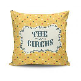 Dekorační polštář The Circus Dots 45x45 cm Dekorační polštáře