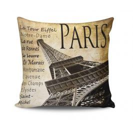 Dekorační polštář Paris Tour 45x45 cm Dekorační polštáře