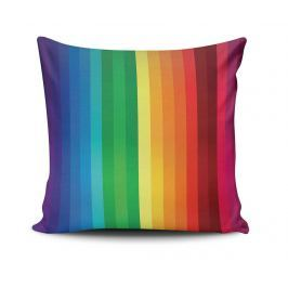 Dekorační polštář Rainbow Lines 45x45 cm Dekorační polštáře
