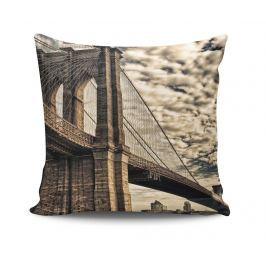 Dekorační polštář Vintage Bridge 45x45 cm Dekorační polštáře