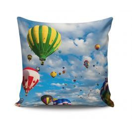 Dekorační polštář Balloons View 45x45 cm