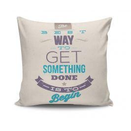 Dekorační polštář The Best Way 45x45 cm Dekorační polštáře