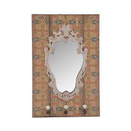 Věšák se zrcadlem Mandala Předsíň & obývák
