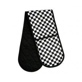 Dvojitá kuchyňská chňapka Check Mate Textilie pro stolování