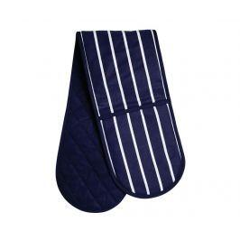 Dvojitá chňapka Navy Stripes Textilie pro stolování
