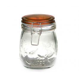 Dóza s hermetickým víkem Fruits Amber 700 ml Dózy na potraviny & nádoby