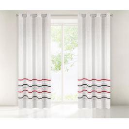 Záclona Gabi Stripes Combi 140x250 cm