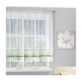 Záclona Gabi Evio Cream Green 160x295 cm Záclony & závěsy
