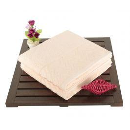 Sada 2 ručníků Persephone Powder 50x90 cm Koupelnové ručníky