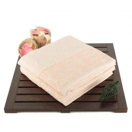 Sada 2 ručníků Pastel Paisley Powder 50x90 cm