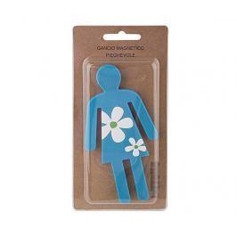 Magnetický stojan na doplňky Woman with Flowers Kancelářské potřeby & doplňky