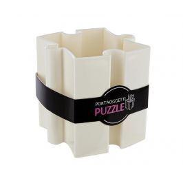 Stojan na propisky Puzzle White