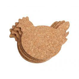 Sada 4 podtácků Chicken Ubrusy a doplňky