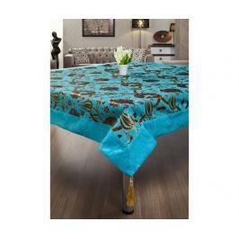 Ubrus Gulfem Turquoise 155x155 cm Ubrusy a doplňky