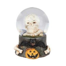 Dekorační sněžná koule Skull