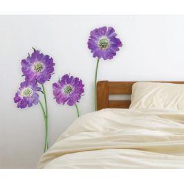 Samolepka Purple Flower