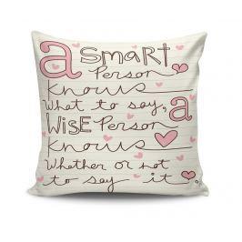 Dekorační polštář Kiddo Smart Person 45x45 cm