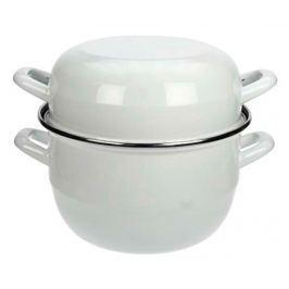 Hrnec na vaření mušlí Mussel White M