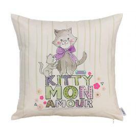 Povlak na polštář Kitty Mon Amour 43x43 cm