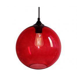 Závěsná lampa Edison Red