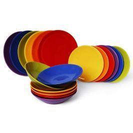 Jídelní souprava, 18 dílů Trendy Multicolor