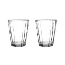 Sada 2 sklenic na vodu Ribbed