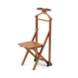 Němý sluha se židlí Duka