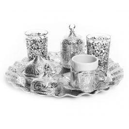 Sada na kávu, 11 dílů Haluk Silver