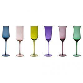 Sada 6 sklenic na šampaňské Irena 200 ml