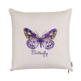 Povlak na polštář Purple Butterfly 41x41 cm