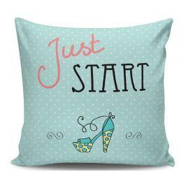 Dekorační polštář Just Start 45x45 cm
