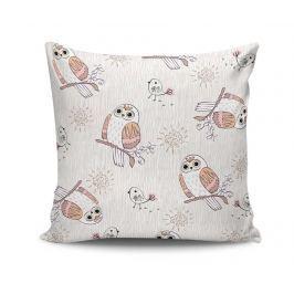 Dekorační polštář Owls Bliss 45x45 cm