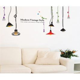 Nálepka Colored Lamps
