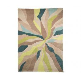 Koberec Splinter Teal Green 160x220 cm