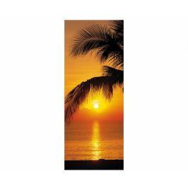 Fototapeta na dveře Palm Beach Sunrise 92x220 cm