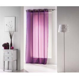 Záclona Uni Purple 140x240 cm