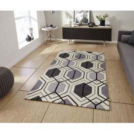 Koberec Hong Kong Mixlines Grey 90x150 cm