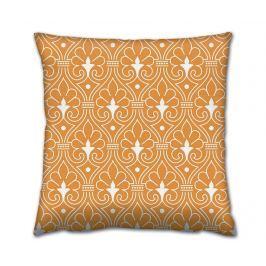 Dekorační polštář Indian Tale Orange 43x43 cm