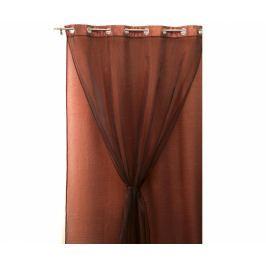 Dvojitý závěs Living Colours Brown 140x280 cm