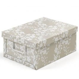 Úložná krabice s víkem Spring Beige S