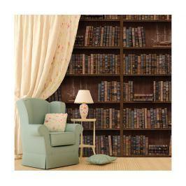 Samolepka Vintage Library