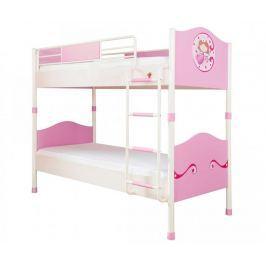 Dětská patrová postel Princess