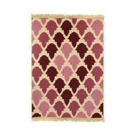 Kobereček Baklava Claret Red Pink 120x180 cm